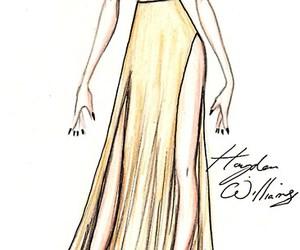 Lady gaga, drawing, and fashion image