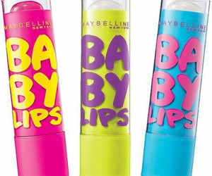 baby lips, lips, and blue image
