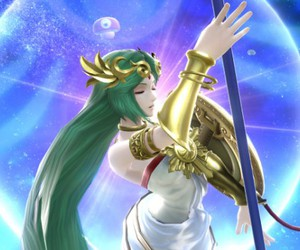 anime, super smash bros, and lady palutena image