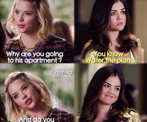 aria, hanna, and pretty little liars image