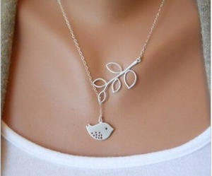 bird, great, and necklace image