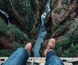 travel, nature, and river image