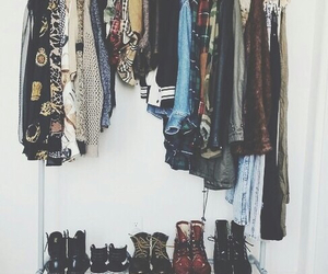 boots, vintage, and clothes image