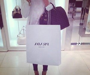 fashion, Prada, and shopping image