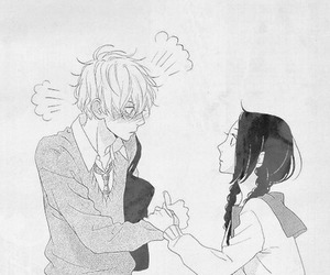 manga, couple, and cute image