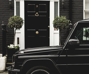black, car, and home image