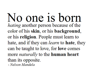 love, nelson mandela, and quotes image