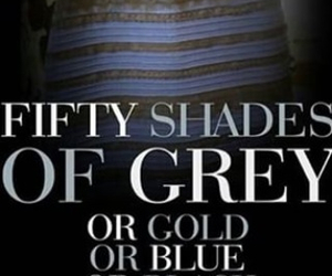 fifty shades of grey, black and blue, and funny image