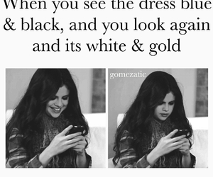 funny, black and blue, and dress image