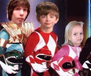 funny, power rangers, and lol image