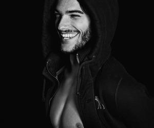 abs, beard, and Calvin Klein image