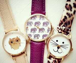 watch, cute, and elephant image