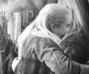 hug, Legolas, and the hobbit image