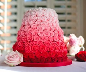 cake, candy, and red image