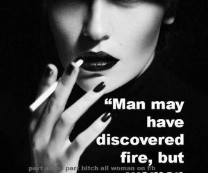 discover, fire, and women image