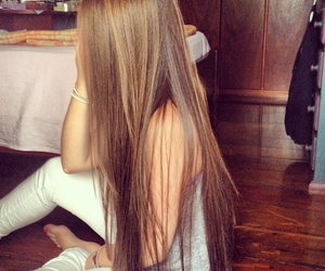 beautiful, girl, and haire image