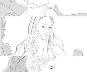 couple, fx, and krystal image