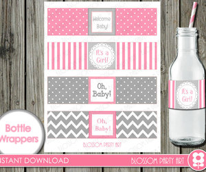 printables, bottle, and diy image