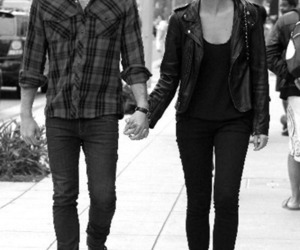 caleb followill, couple, and Lily Aldridge image