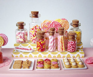 candy, miniature, and sweet image