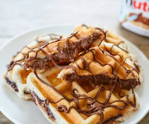 chestnut, chocolate, and dessert image