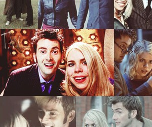bbc, billie piper, and david tennant image
