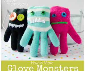 crafts, diy, and glove image