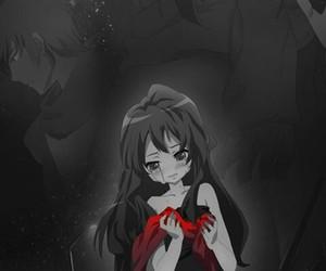 anime, cry, and Taiga image