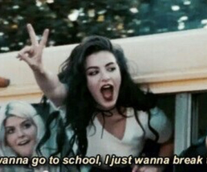 school, grunge, and break the rules image
