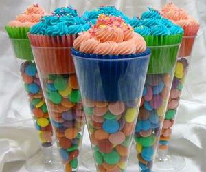 cupcake, food, and candy image