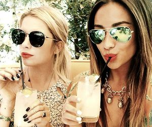 ashley benson, shay mitchell, and pretty little liars image