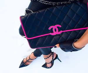chanel, fashion, and heels image