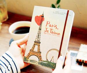 paris, book, and je t'aime image