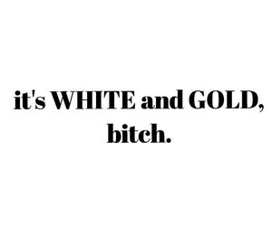black and blue, dress, and white and gold image