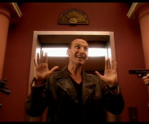 doctor who, funny, and ninth doctor image