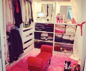 bedroom, design, and girly image