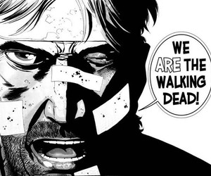 the walking dead, comic, and twd image