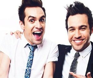 fall out boy, brendon urie, and panic! at the disco image