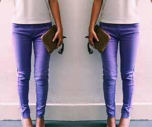 heels, outfit, and pastel image