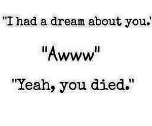 Dream, i, and life image