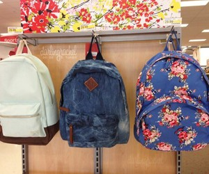 casual, girly, and backpack image