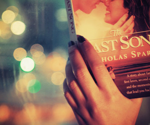 the last song, book, and miley cyrus image