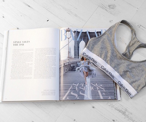 magazine, grey, and pretty image