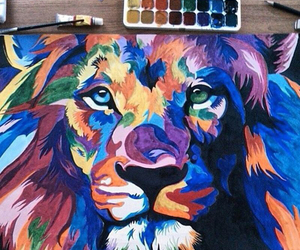 lion, girly, and style image