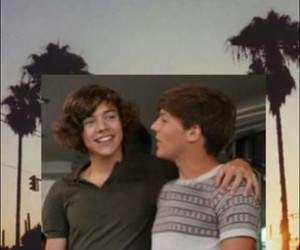 one direction, real, and larry image