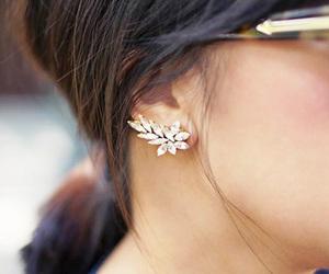 earings, fashion, and earrings image