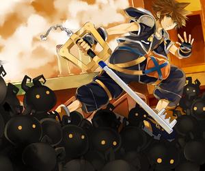 sora and kingdom hearts image