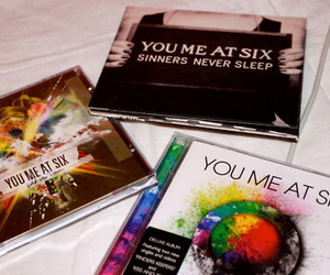 cd, you me at six, and hold me down image