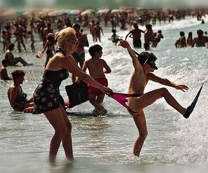 funny, sea, and summer image