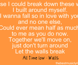 all time low, band, and break down image